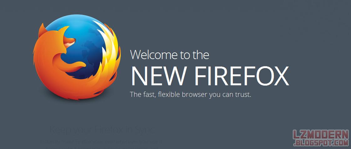 Mozilla Firefox 29 Beta - Hadirkan Tampilan dan Fitur Baru