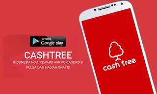 Aplikasi Terbaik Untuk Mendapatkan Pulsa Gratis Cashtree cover