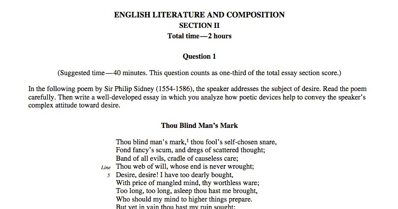 Superbe AP Test Prep AP Language Composition AP Central The College Board Ap  History Essay Help