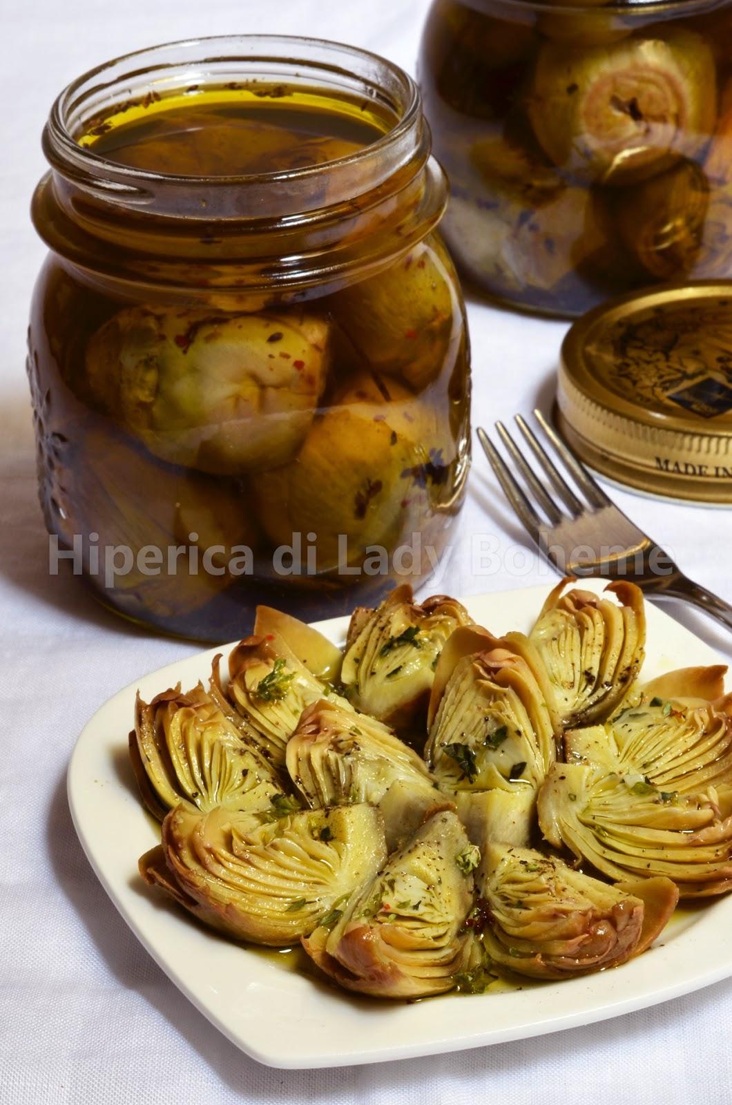 hiperica_lady_boheme_blog_cucina_ricette_gustose_facili_veloci_carciofini_sotto_olio_2