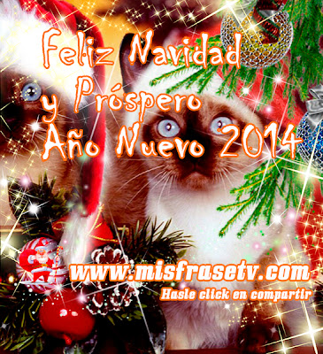 Imagenes con Frases Bonitas para Navidad y Año nuevo 2014