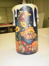 Scarebear Candle
