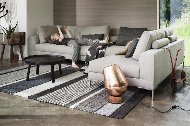Interieurcursus nieuwe inspiratie en mooie meubelen van for Vloerkleed woonkamer