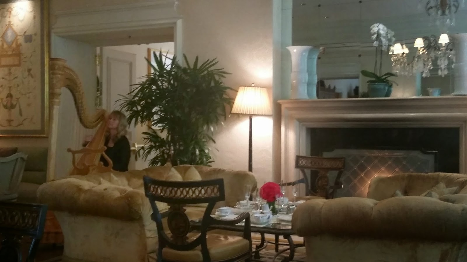 Traditional Afternoon Tea At The Living Room Part 63
