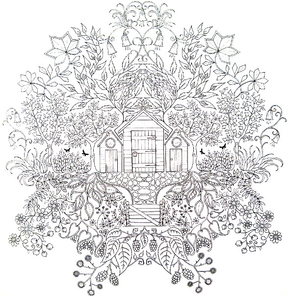 Glov and co jardin secret - Mandala paysage ...