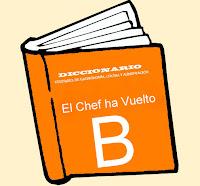 Diccionario Culinario. (B)