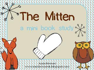 the mitten mini book printable