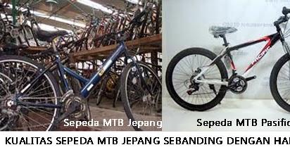 Harga Jual MTB Jepang VS Harga Sepeda Pacific