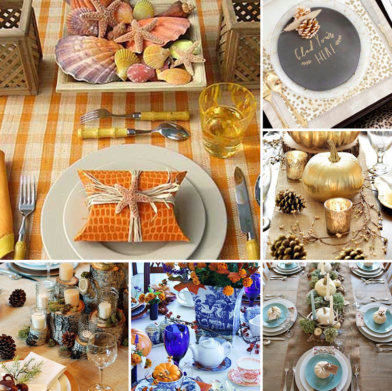 Home Decor | The Ultimate Guide to Thanksgiving | Tablescapes and Place Card Inspiration
