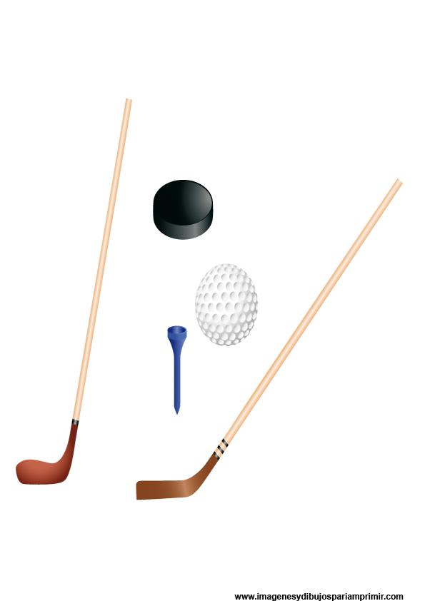 imagenes de palos de golf y pelotas
