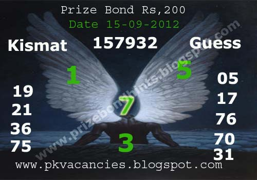 Prize bond find a job in canada europe england usa pkvacancies