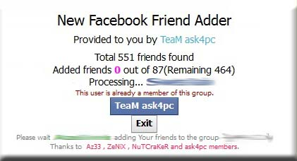 how to add non friends to facebook group