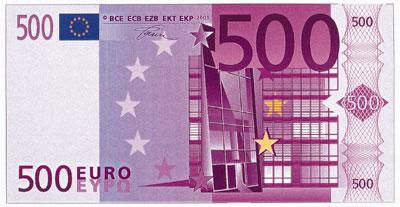 Billete de 500 euros