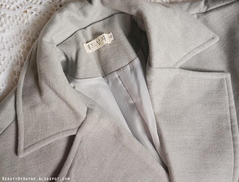 Romwe Grey Coat Review