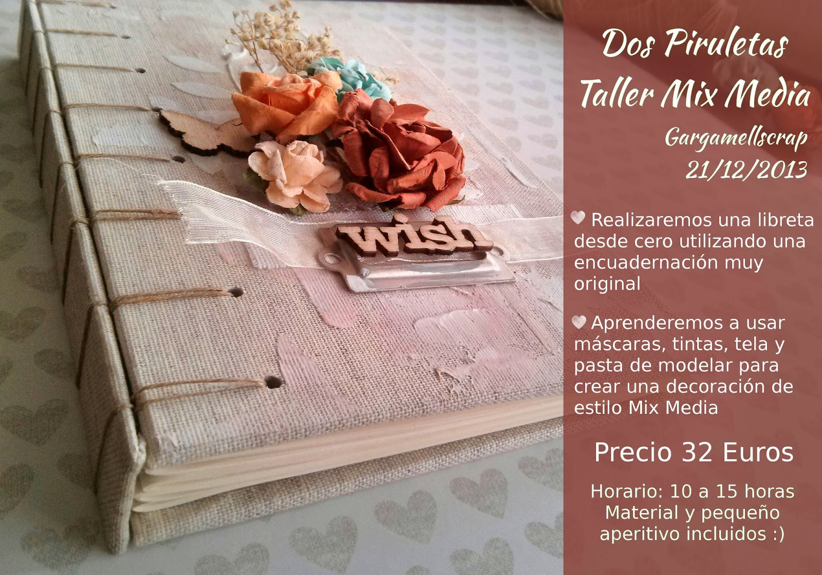 Taller scrapbooking en Madrid