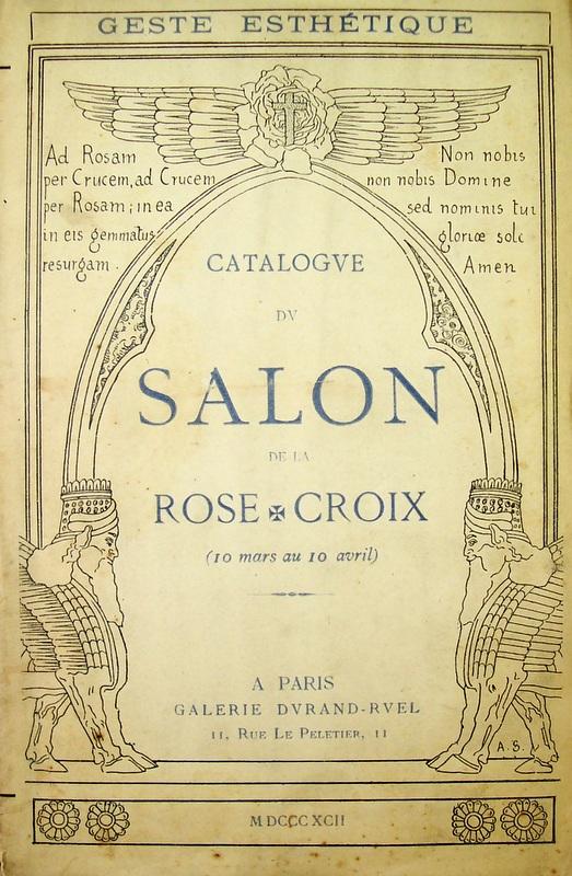 Librairie ancienne et autres tr sors jos phin p ladan for Salon rose croix