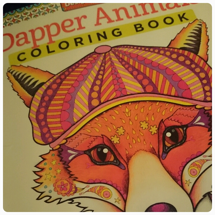 Dapper Animals Colouring Book