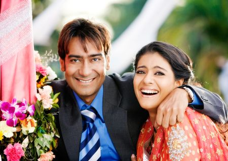 ajay+devgan+and+kajol+wedding 2 Best Offscreen Jodi   Most Loved Celebrities Awards. Exclusive to fashioncirQle most loved celebrities celebrities bollywood best offscreen jodi