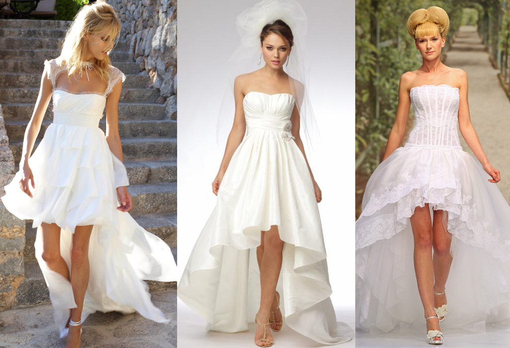 Platinum touch events high low wedding dresses for Wedding dresses high low