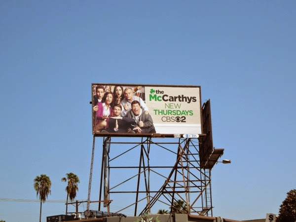 The McCarthys season 1 billboard