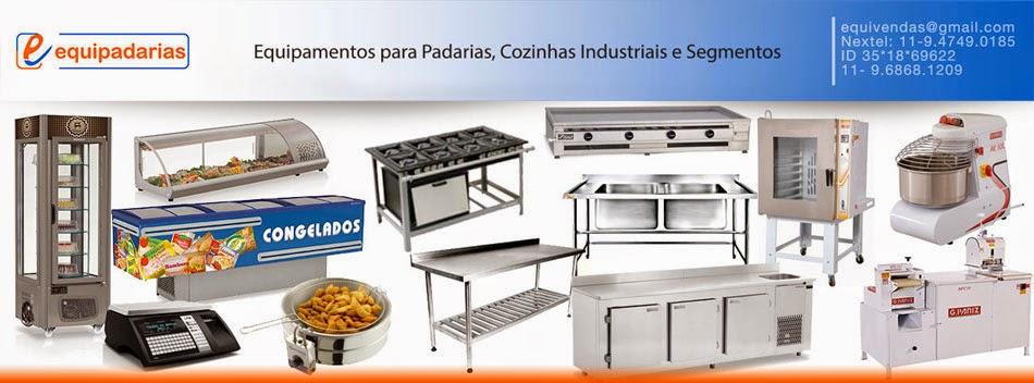 Equipamentos para Padarias e Cozinhas industriais