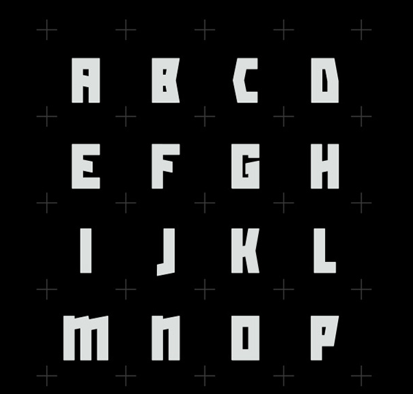 Slash - a free display font