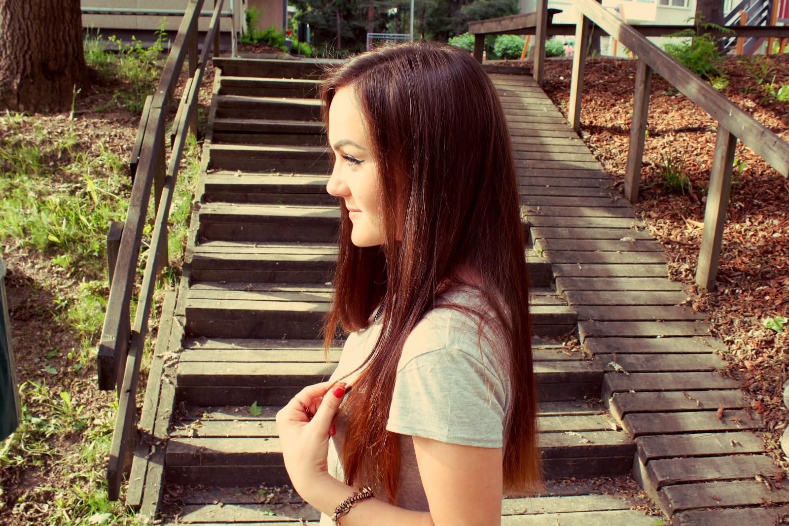 натуральный цвет волос омбрэ
