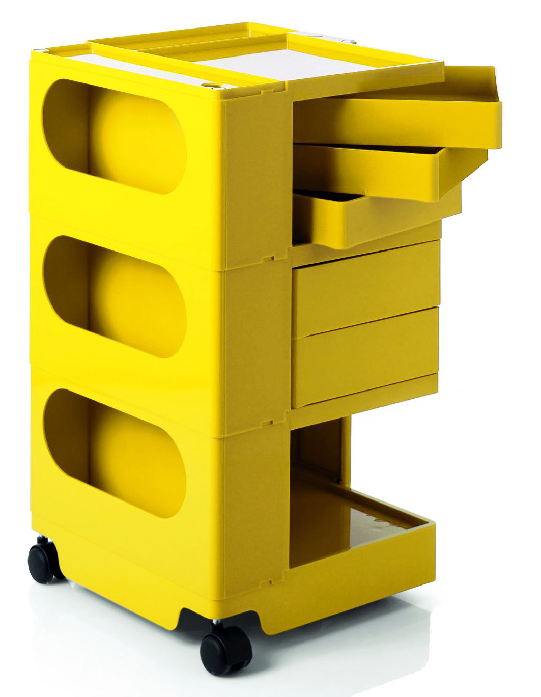 joe colombo boby trolley modern design by