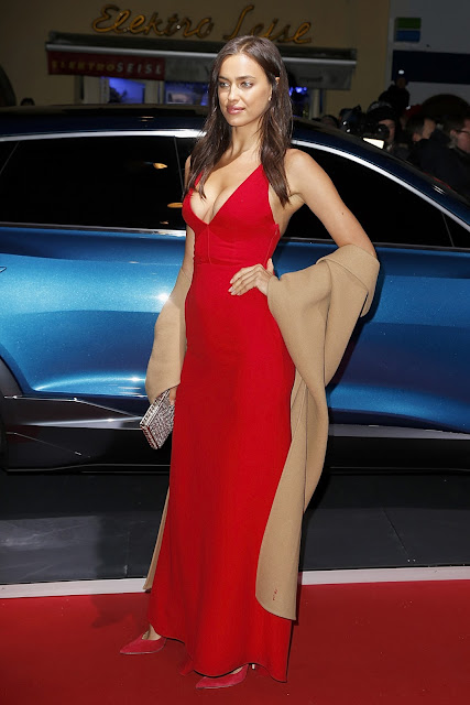 Actress, Model, @ Irina Shayk - Audi Night Kitzbühel, Austria
