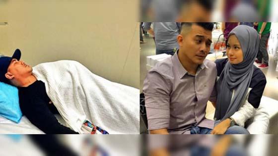 Aaron Aziz demam, isteri risau tunggu ujian darah
