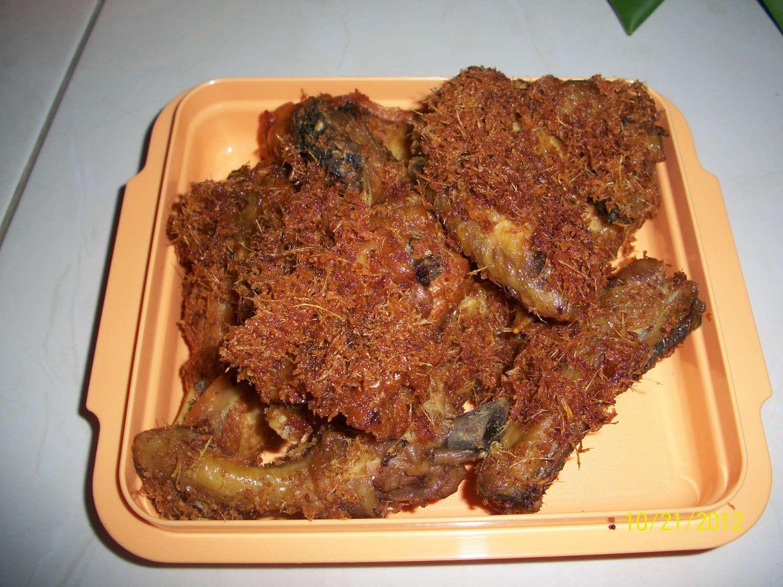 Resep ayam goreng lengkuas Gurih