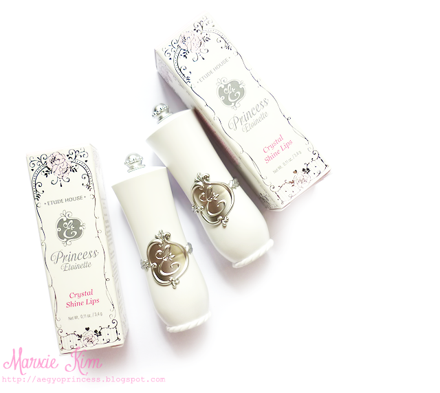 Etude House Winter Princess Etoinette Crystal Shine Lips review