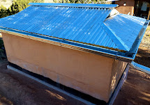 Corrugated Metal for Roofing a Hip Roof