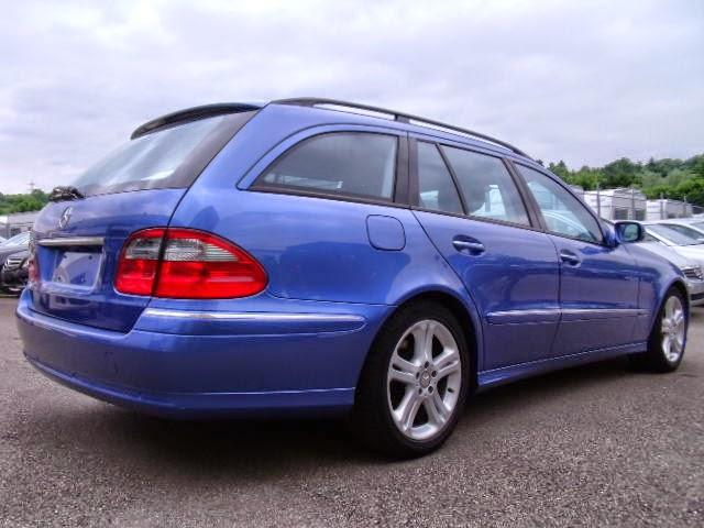 mercedes s211 blue