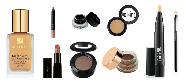 High End Beauty Wishlist, estee lauder, double wear foundation, illamasqua, glamore lipstick naked, once, embellished eyeshadow, prep and prime highlighter, mac, 239 eyeshadow brush, bobbi brown, gel liner, nars, velvet matte lip pencil, bettina, benefit boing concealer,