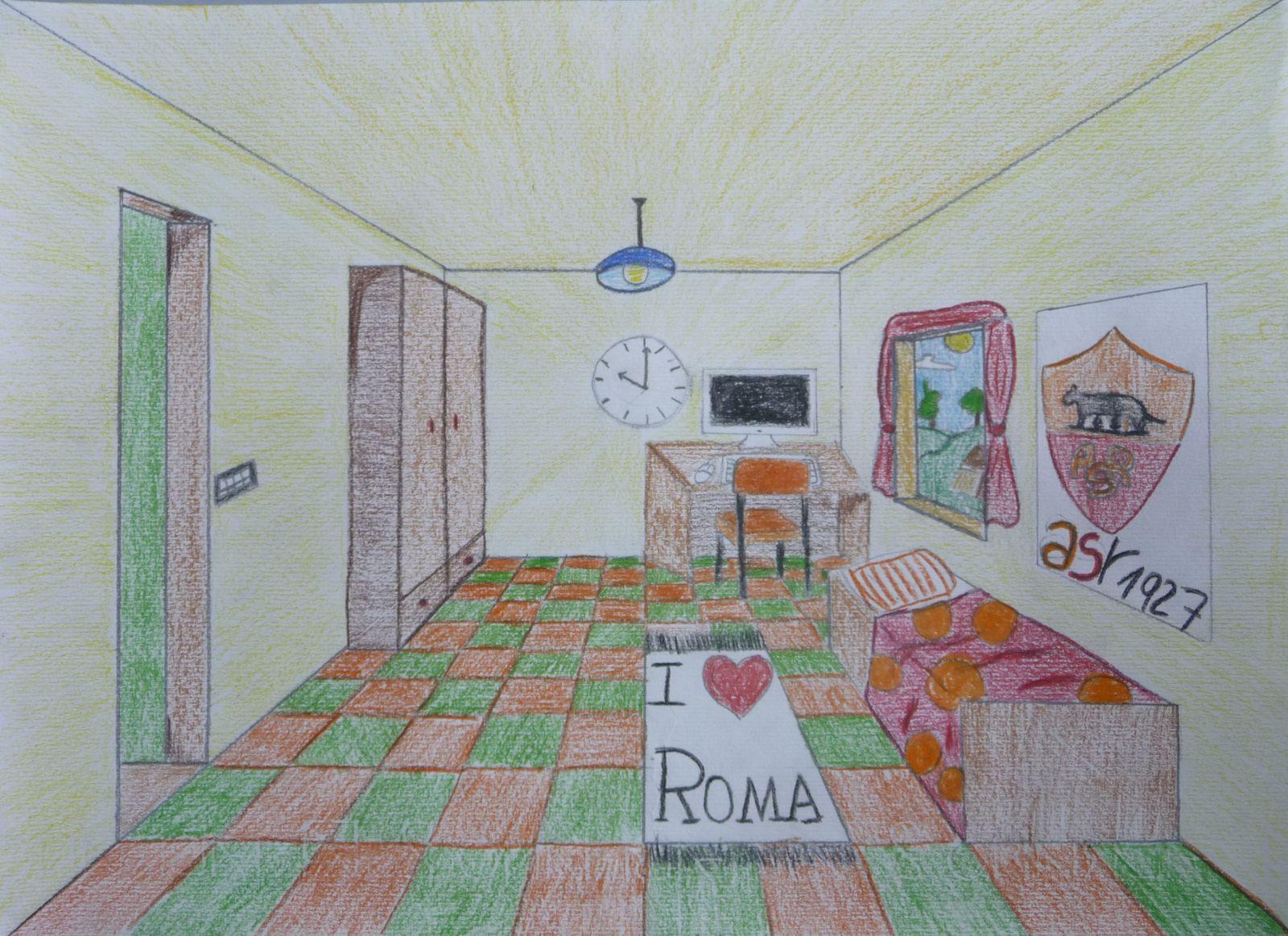 Disegno prospettiva stanza ispirazione di design per la for Generatore di layout della stanza