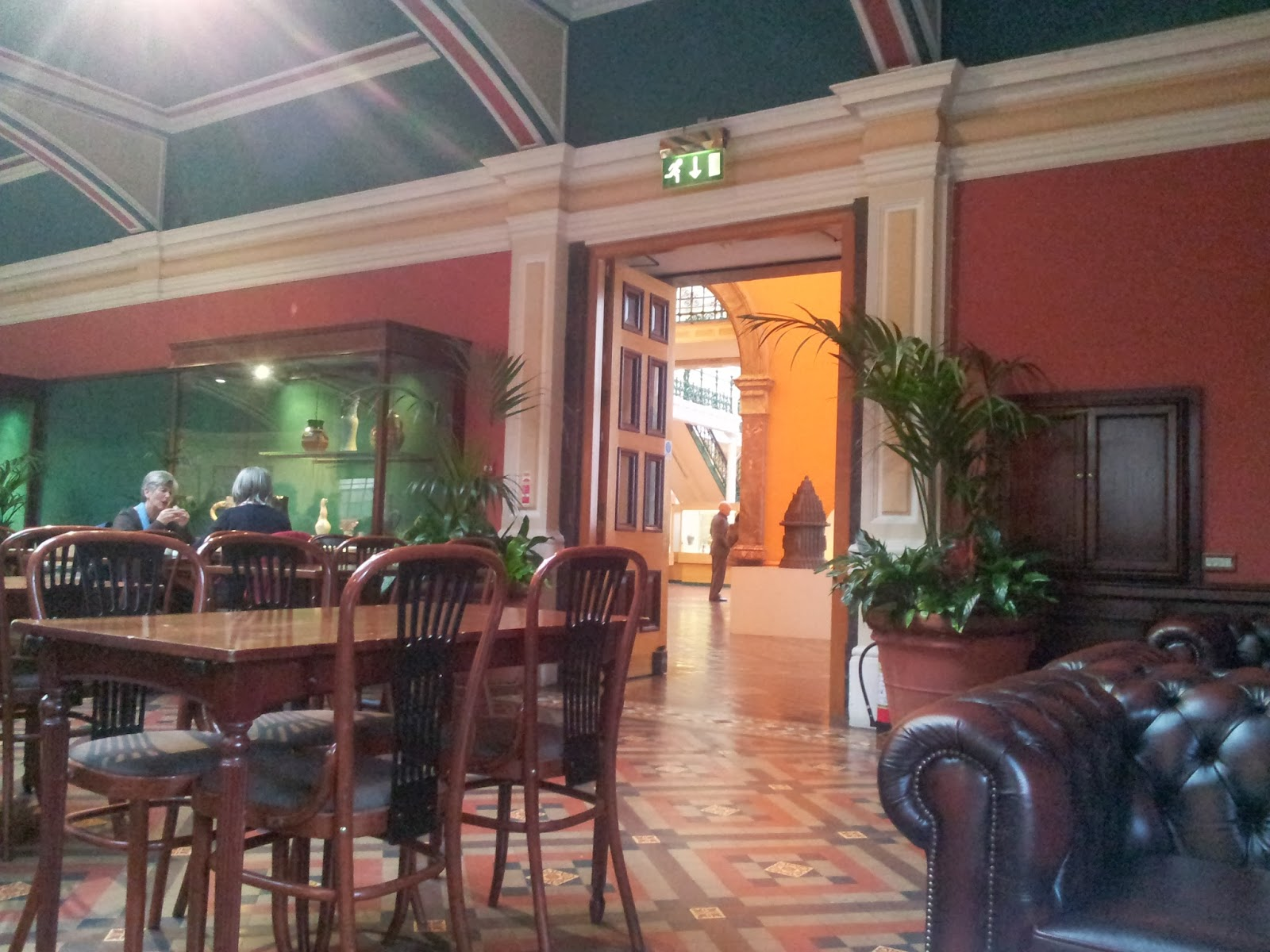 Tea rooms in Birmingham Museum and Art Gallery