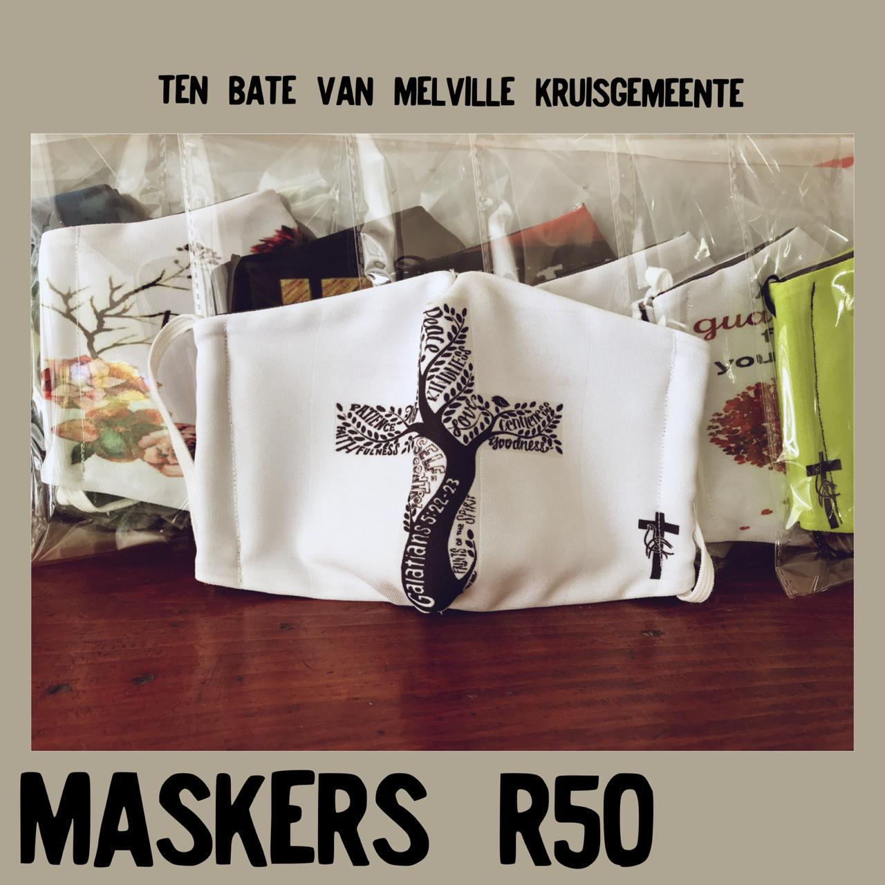 Maskers te koop