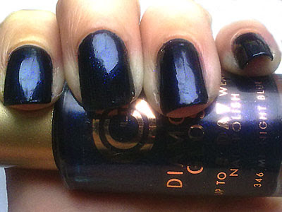 Constance Carroll Diamond Gloss 346 Midnight Blue Swatch