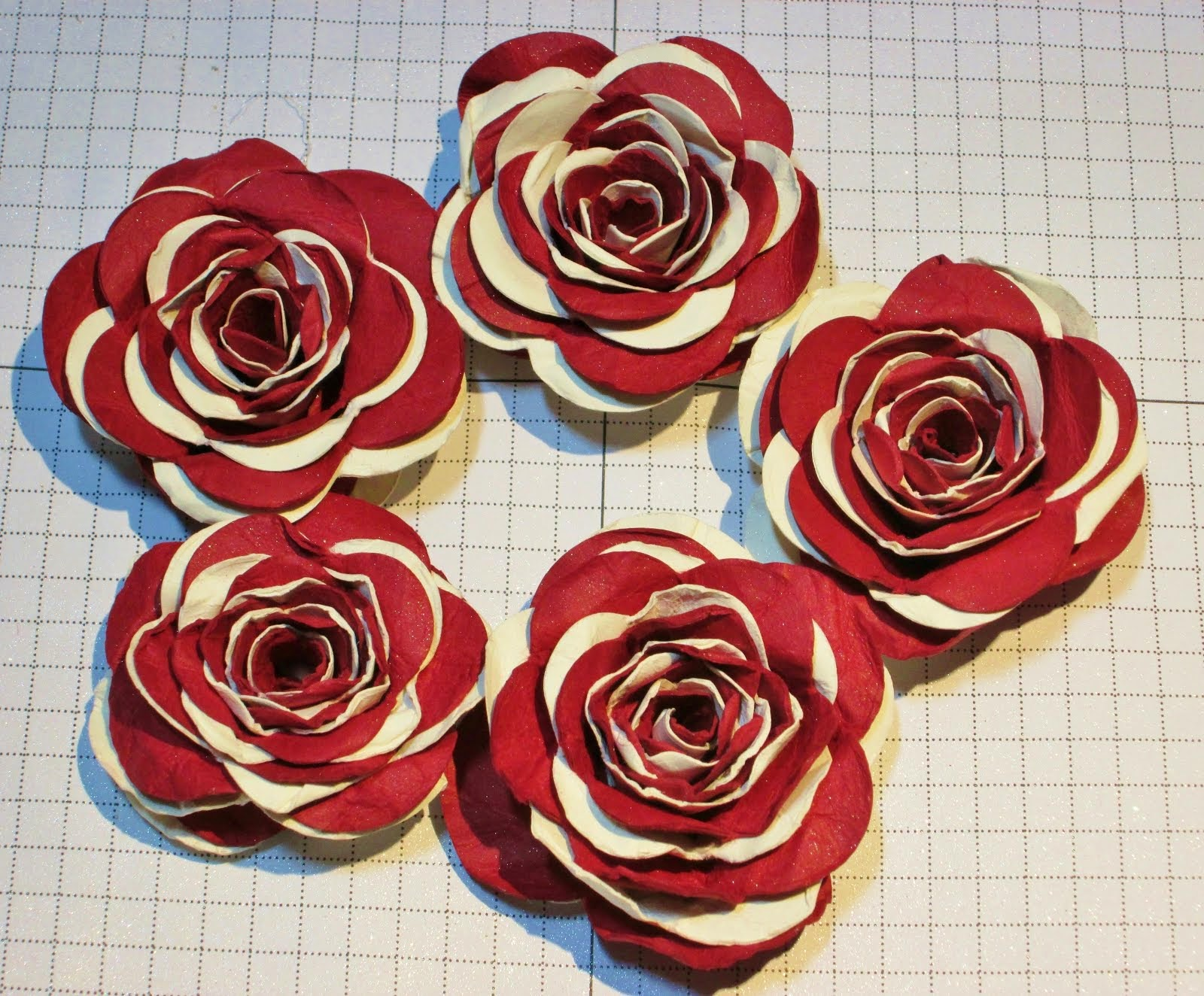 Shabby Chic Spiral Flower Video Tutorial