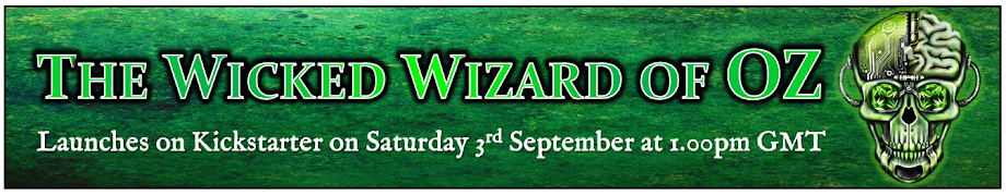 The Wicked Wizard of Oz on Kickstarter