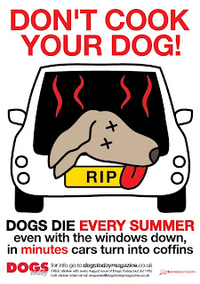 Dog in Car plus Hot Day Equals DEAD DOG