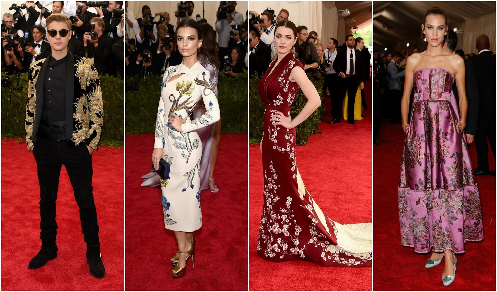Chinese-inspired Dresses