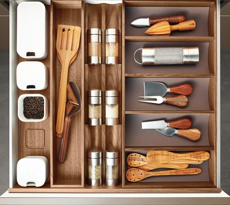 Tua casa la clave de la cocina est en el interior de los cajones - Interiores de cajones de cocina ...