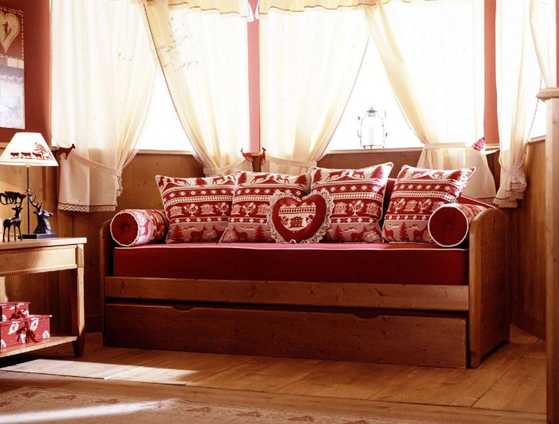 Montagna Chic: divano letto