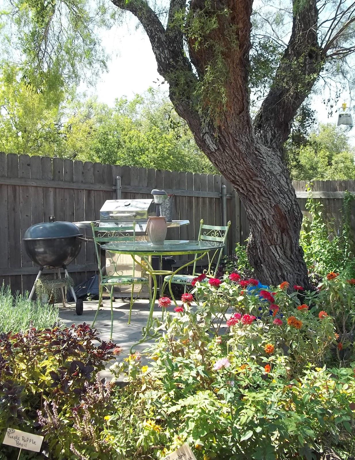 rock oak deer garden tour san antonio style the re purposed garden
