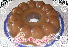 gambar resep masakan puding santan gula merah dapur cantik