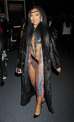 Ashanti Hot In Provocative Dress5