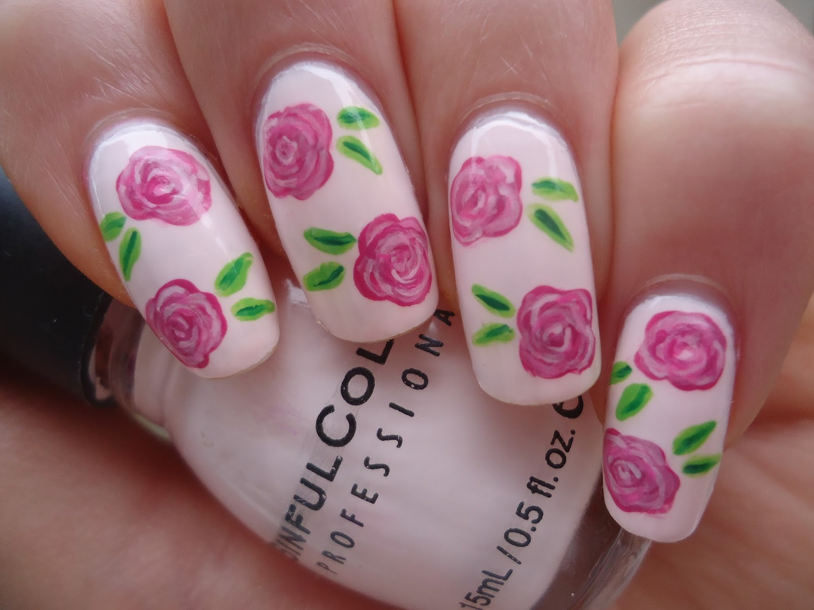 Рисунки на ногтях в домашних условиях 1 фотография