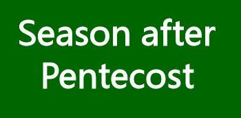 Season after Pentecost
